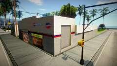 Новый магазин и граффити для GTA San Andreas