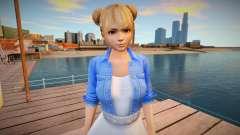 Marie Rose Casual v8 для GTA San Andreas