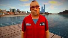 GTA VCS Ped 1 Guy From Shops для GTA San Andreas