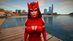 Scarlet Witch Skin для GTA San Andreas