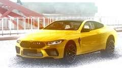 BMW M8 Gold для GTA San Andreas