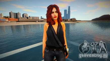 Mila Belova - NFS The Run для GTA San Andreas