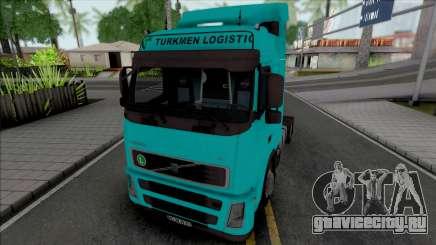 Volvo FH12 440 Turkmen Logistic для GTA San Andreas
