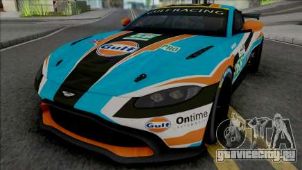 Aston Martin Vantage GT4 2019 для GTA San Andreas