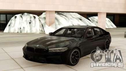 BMW M5 Competition Black Style для GTA San Andreas