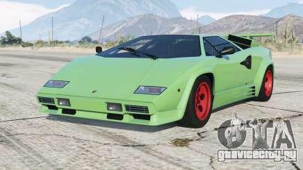 Lamborghini Countach LP5000 S Quattrovalvole 1985〡add-on v1.1 для GTA 5