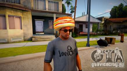 Burger Shot Employee Hat для GTA San Andreas