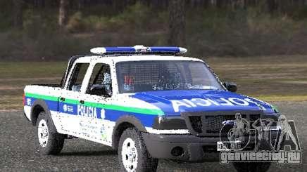 Ford Ranger 2008 Policia Bonaerense для GTA San Andreas