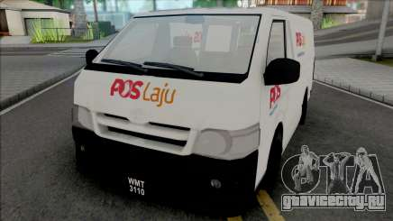 Toyota Hiace PosLaju Malaysian Van для GTA San Andreas