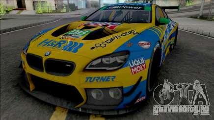 BMW M6 GT3 2018 (Turner Motorsport) для GTA San Andreas