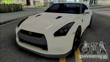 Nissan GT-R R35 [Fixed] для GTA San Andreas