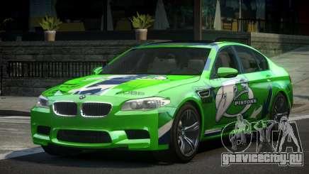 BMW M5 F10 PSI-R S6 для GTA 4