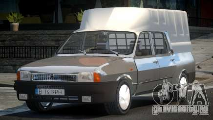 Dacia 1307 Pick-Up Cab для GTA 4
