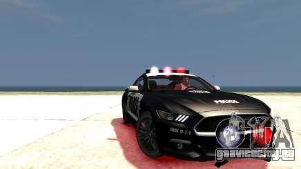 2015 Ford Mustang GT Police (UpdateV2.1) для GTA 4