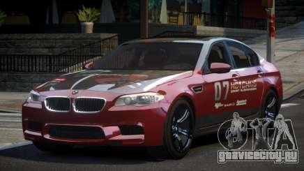 BMW M5 F10 PSI-R S7 для GTA 4