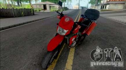 Yamaha XT600 CBMERJ (Improved) для GTA San Andreas