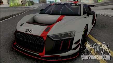 Audi R8 GT4 для GTA San Andreas
