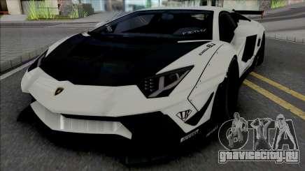 Lamborghini Aventador LP700-4 LB LE v2 для GTA San Andreas