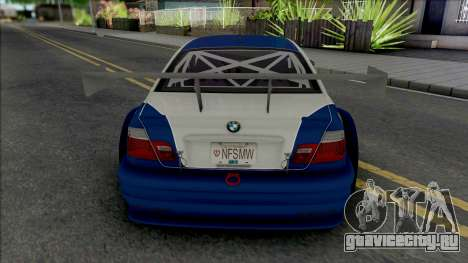 BMW M3 GTR [HQ] для GTA San Andreas