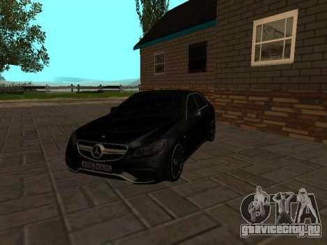Mercedes-Benz E63 W212 AMG для GTA San Andreas