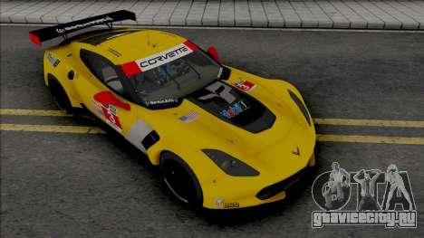 Chevrolet Corvette C7.R [Fixed] для GTA San Andreas