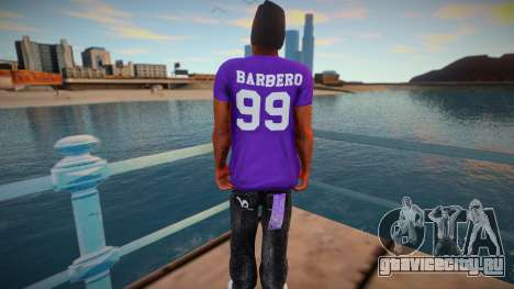 Barbero ballas для GTA San Andreas