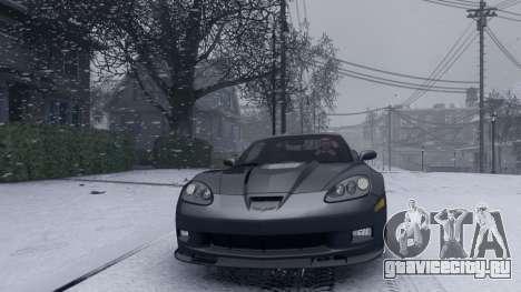 Winter Liberty для GTA 4