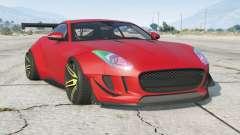 Jaguar F-Type R coupe 2015〡Wide Body Kit для GTA 5