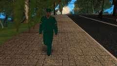 Сотрудник МЧС России для GTA San Andreas