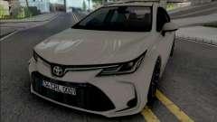 Toyota Corolla 2020 Hybrid для GTA San Andreas