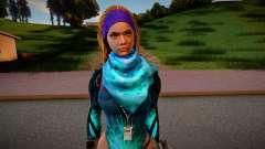 Metro Conflict girl для GTA San Andreas
