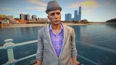 Чувак в сером пиджаке из GTA Online для GTA San Andreas