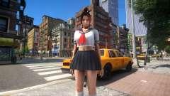 Mai Shiranui Sailor School для GTA 4