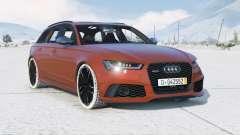 Audi RS 6 Avant (C7) 2015〡add-on для GTA 5