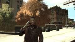 Black Skin for Niko для GTA 4