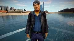 Русский мафиози в кожаном пиджаке для GTA San Andreas