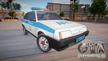 ВАЗ 2108 КК Полиция (ДПС) для GTA San Andreas