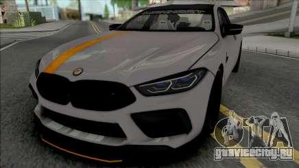 BMW M8 Gran Coupe Manhart для GTA San Andreas