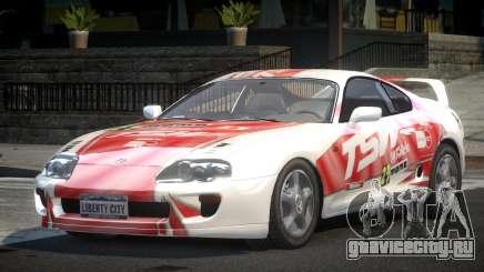 Toyota Supra GST Drift S3 для GTA 4