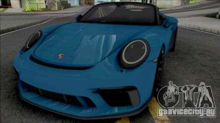 Porsche 911 Speedster 2020 [HQ] для GTA San Andreas