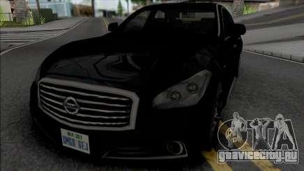 Nissan Cima 2012 (SA Style) для GTA San Andreas