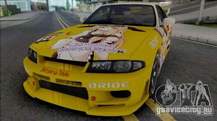 Nissan Skyline GT-R R33 (SA Lights) для GTA San Andreas