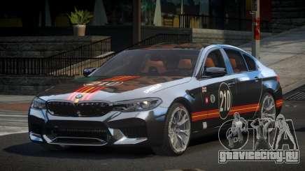 BMW M5 Competition xDrive AT S8 для GTA 4