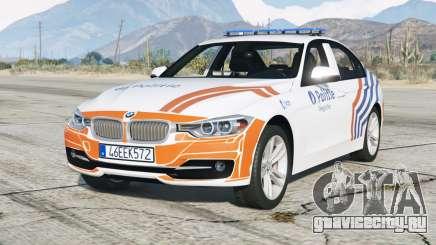 BMW 335i sedan Sport Line (F30) 2013〡Wegpolitie [ELS] для GTA 5