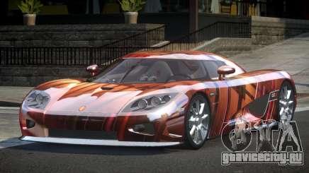 Koenigsegg CCX GST-R S5 для GTA 4