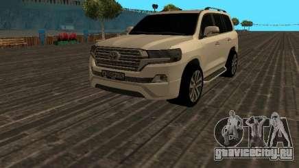 Toyota Land Cruiser 200 18 v2 для GTA San Andreas