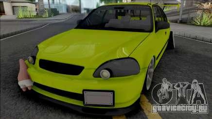 Honda Civic 1.6 iES Yellow для GTA San Andreas