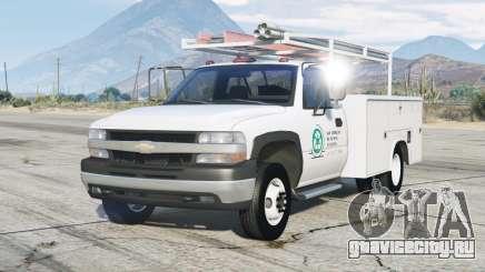 Chevrolet Silverado 1999〡Utility Truck для GTA 5