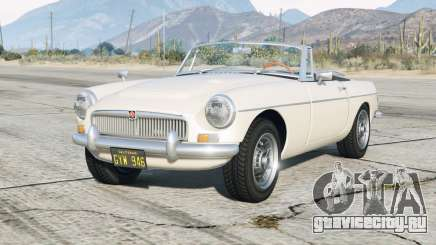 MG C Roadster 1968〡add-on v0.3 для GTA 5