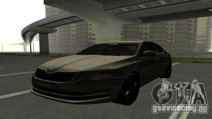 Skoda Octavia RUS Plates для GTA San Andreas